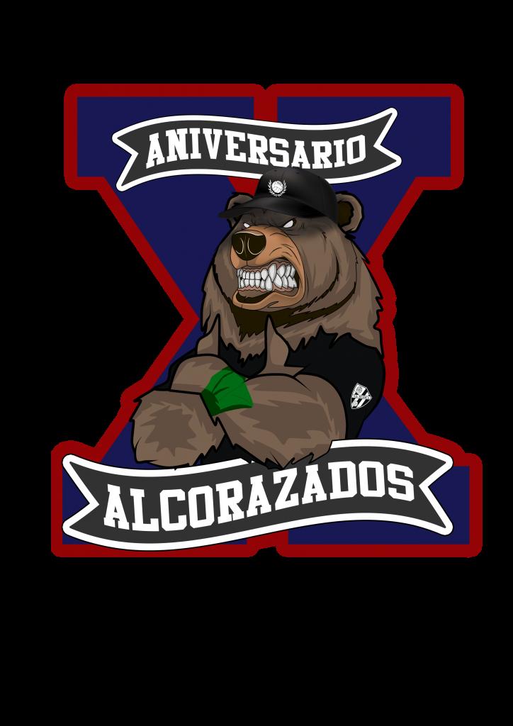 LOGO X ANIVERSARIO ALCORAZADOS